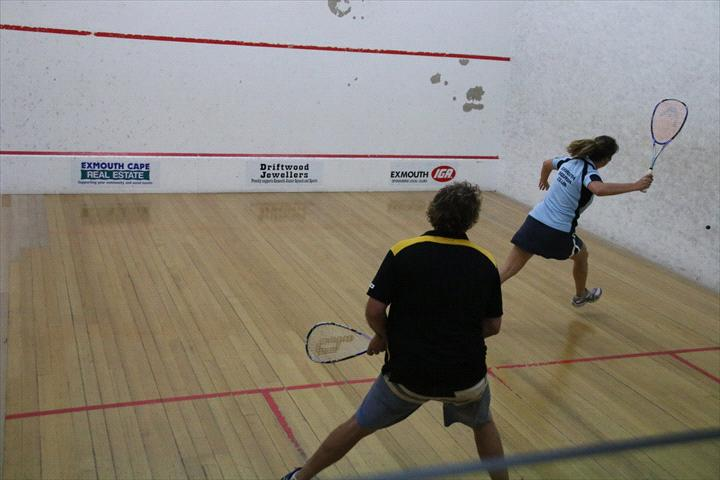 Image: Exmouth Squash Club
