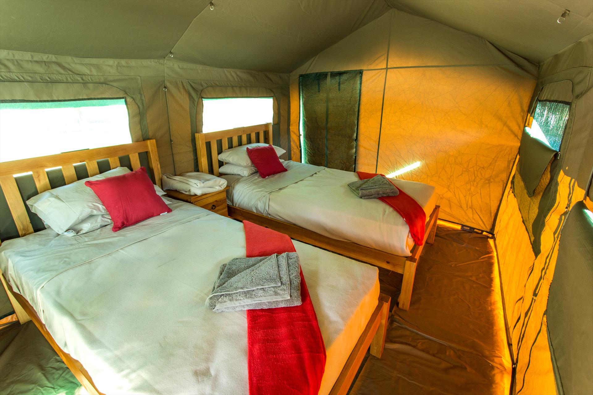 Mt Hart Safari Tent (En-suited)- Gibb River Road Room Image