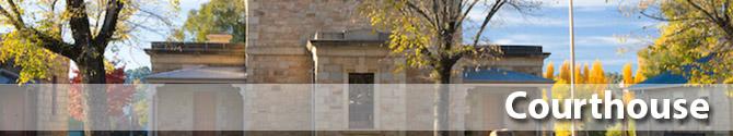 Beechworth historic courthouse precinct ned kelly ellen kelly elizabeth scott