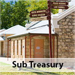 Beechworth Sub Treasury, Gold Exhibition, Police Exhibition, History, Heritage, Historic Precinct, Honey Granite