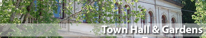 Beechworth Town Hall and Gardens history information heritage
