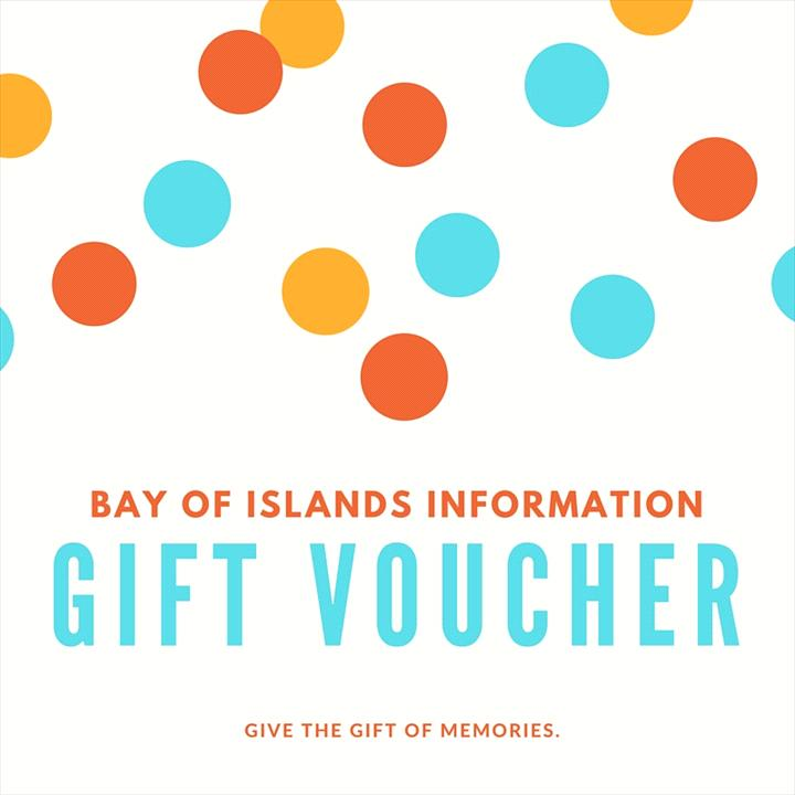 Gift Vouchers - Bay of Islands Information