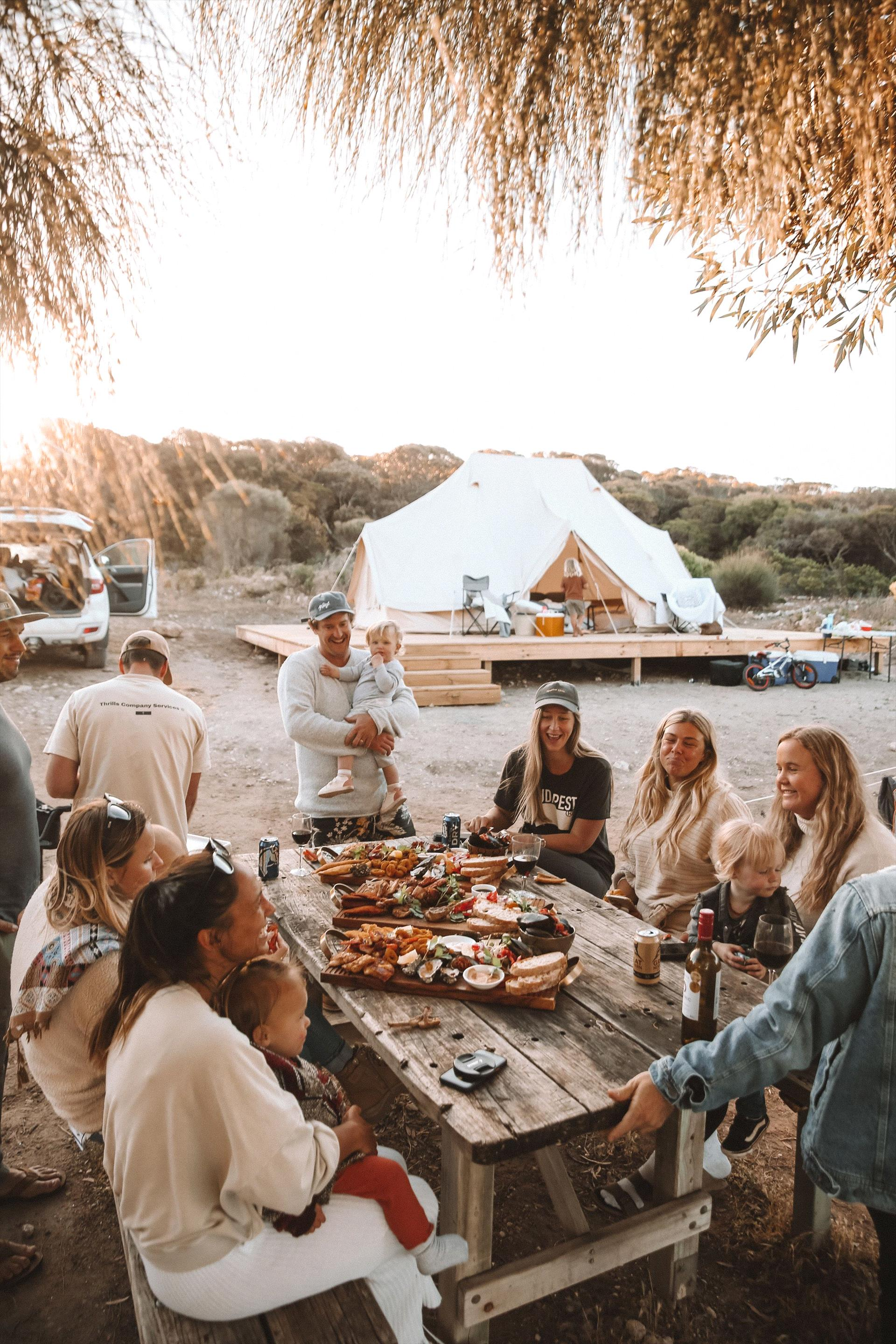 September Beach Glamping