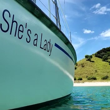 She's A Lady Yacht Charters