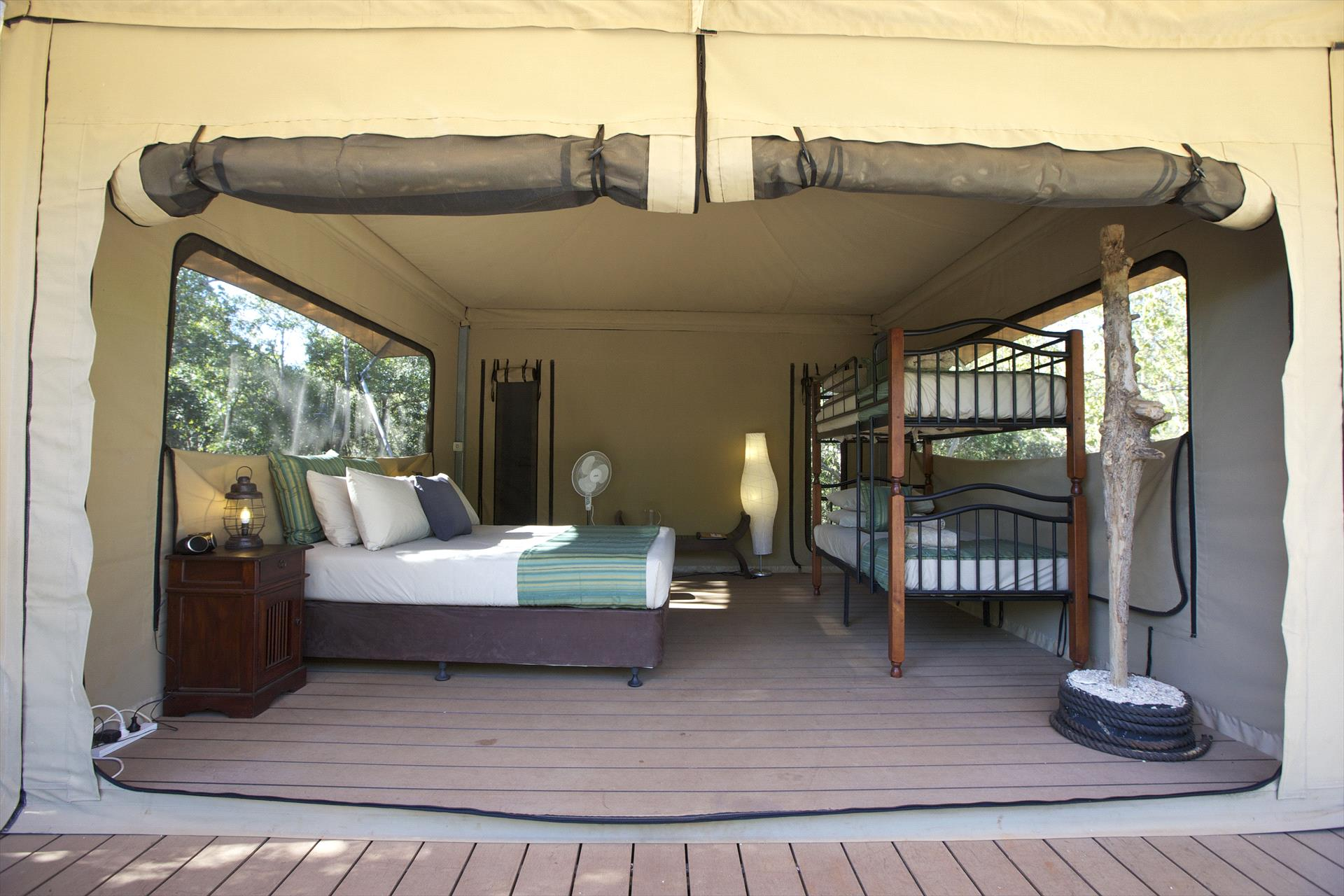 Family Safari Tent Room Image