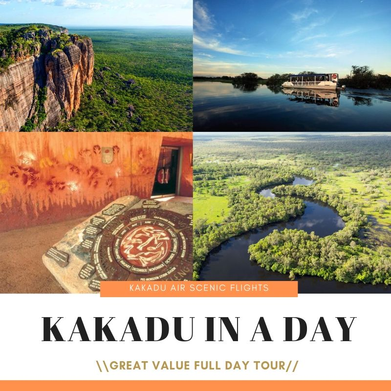 Kakadu in a Day with Kakadu Air Services in the WET
