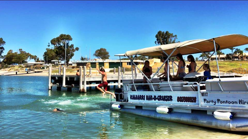 Kalbarri Bar-B-Cruiser - Pontoon Hire