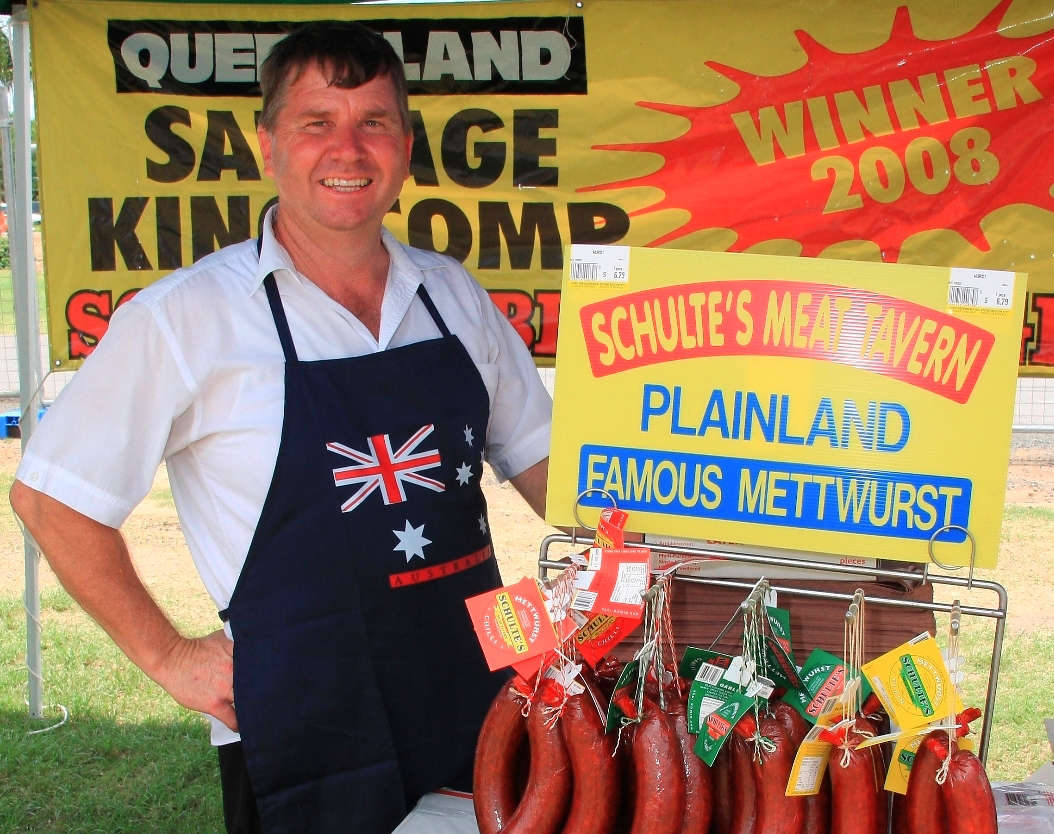 Paul Schulte from Schultes Meat Tavern, Plainland
