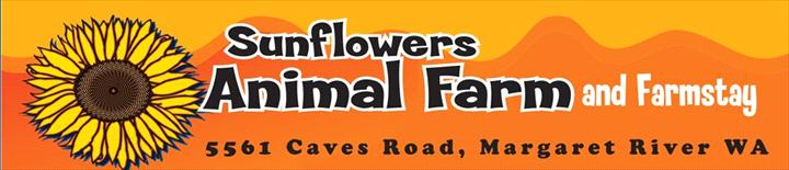 Sunflowers Animal Farm and Farmstay logo