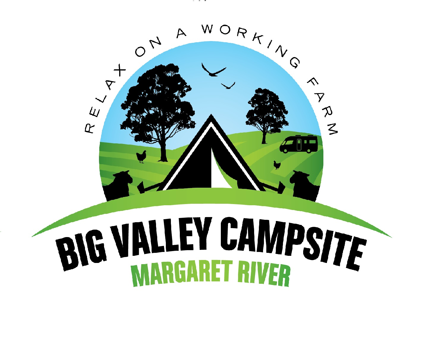 Big Valley Campsite logo