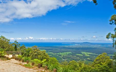 Fantastic views from Yarrahapinni Mountain