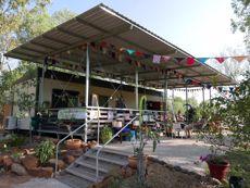 Edith Falls (Leliyn) Campground and Kiosk