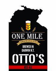 One Mile Brewing Co Take Away Menu