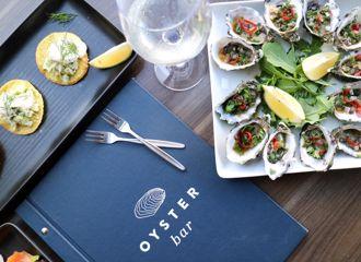 Oyster Bar Take Away Menu