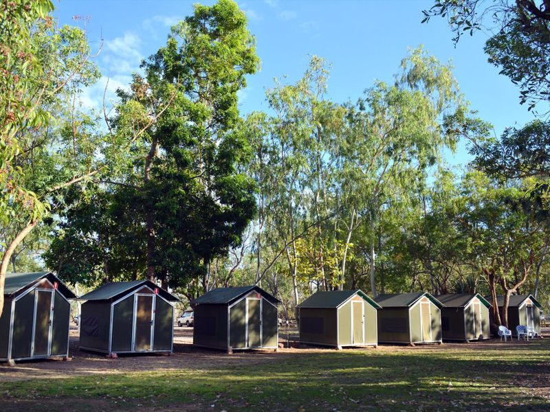 Nitmiluk Permanent Tents and Campground