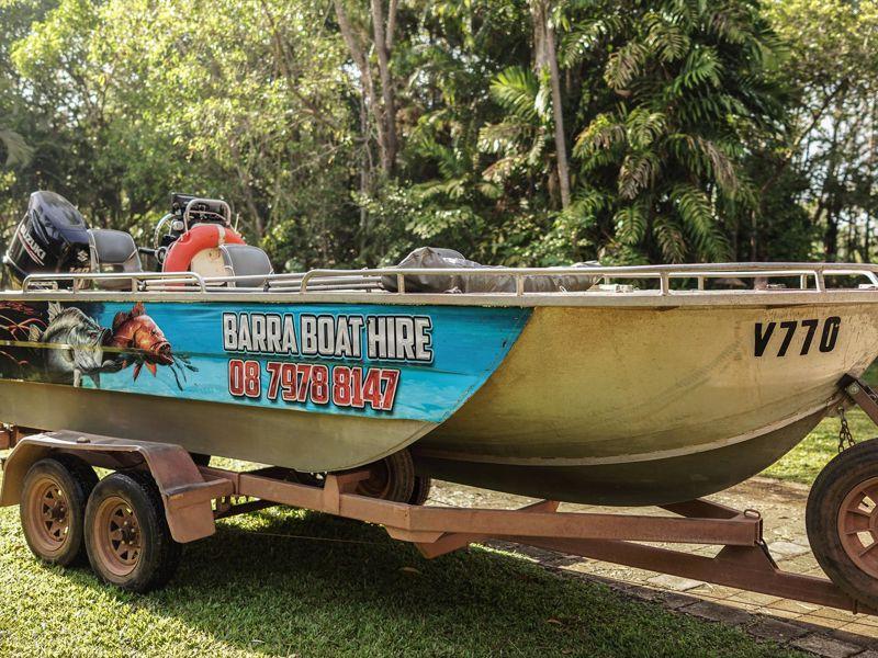 Barra or Blue Fishing Charters