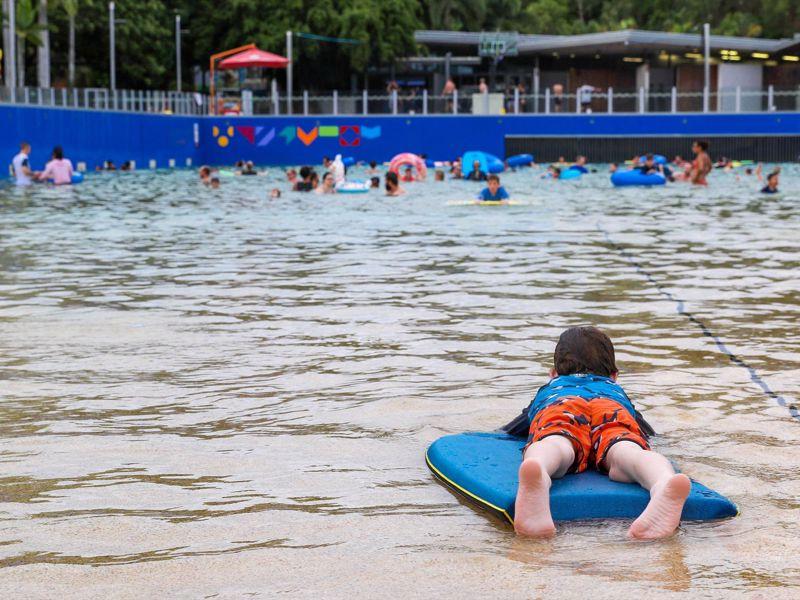 Darwin Waterfront -  Wave Lagoon