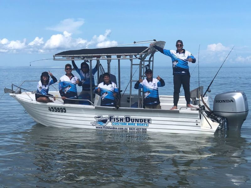 Fish Dundee - Dundee Boat Hire