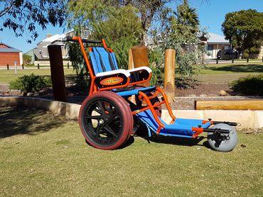 Wheelchair - All Terrain