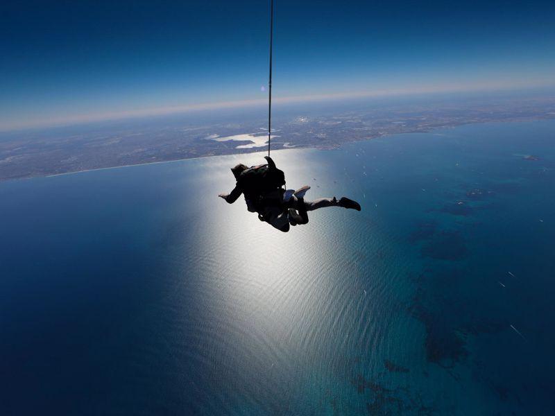 Skydive Geronimo Rottnest