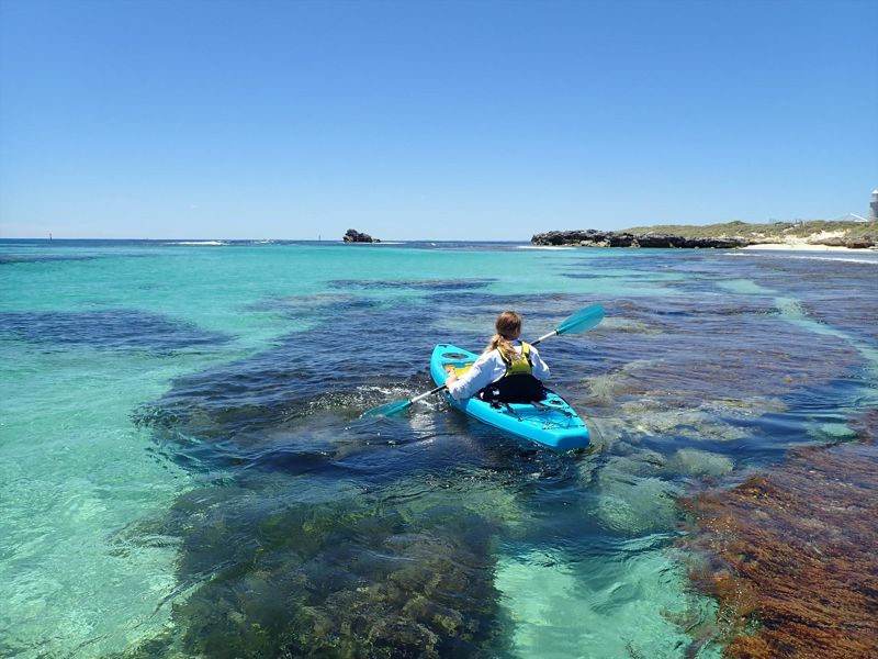 ROTTNEST GLASS BOTTOM SEA KAYAKING TOURS