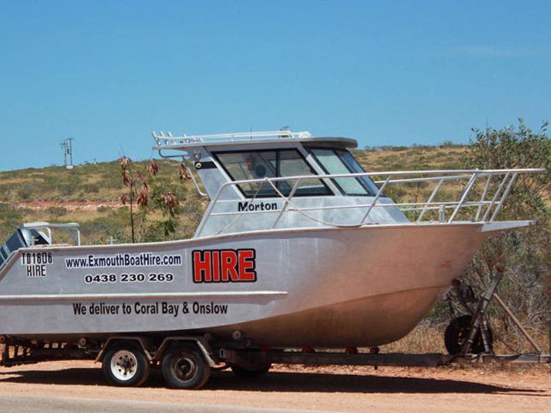 Exmouth Boat & Kayak Hire